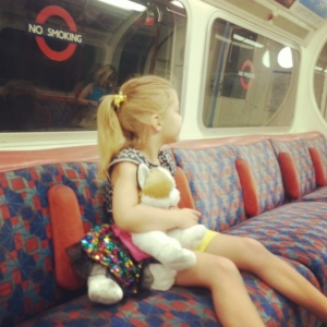 This one likes the Tube; the other, not so much.