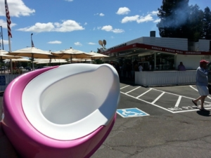 Potty. At Gott's in St. Helena.