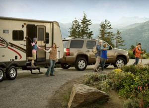 One potential set-up (thanks, GoRVing.com, for the photo).