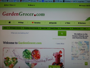 Garden Grocer, send up our stuff!