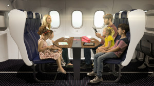 A Thomson Airways family booth. Photo from Skift.