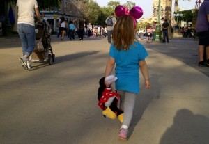 L takes on Disneyland, like a boss.