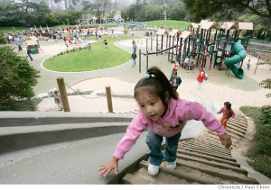 Koret Playground, courtesy of the Chronicle.