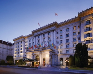 One of our favorite places to stay: the Fairmont San Francisco