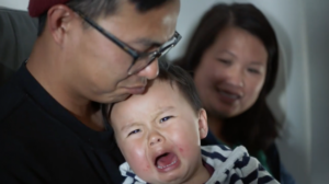 Crying baby, from the video.