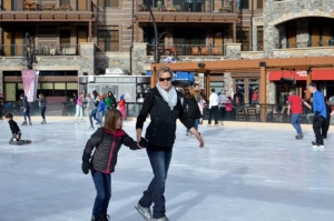 Northstar-Village-Ice-Skating